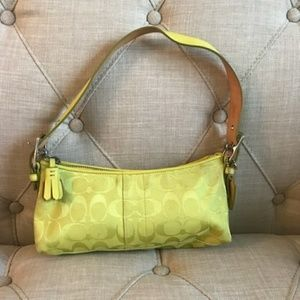 Coach Canvas Baquette